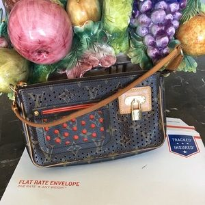 Louis Vuitton perforated Pochette